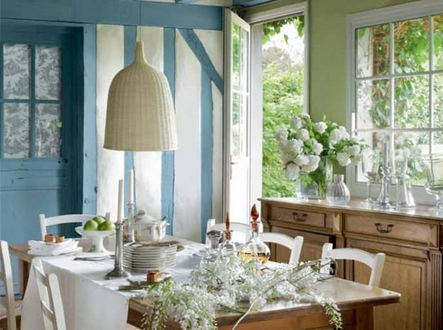 22 French Country Decorating Ideas for Modern Dining Room Decor ...