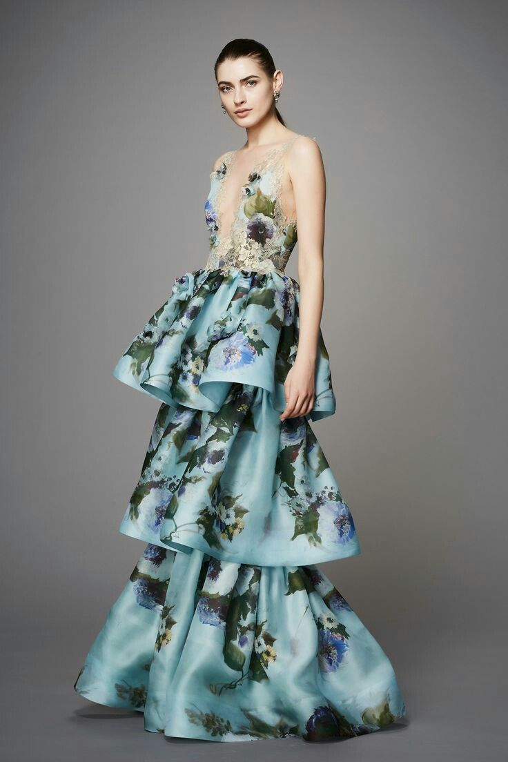 Fashion-Dresses| Marchesa pre-fall 2017 (2/5) | Gowns / Dresses ...