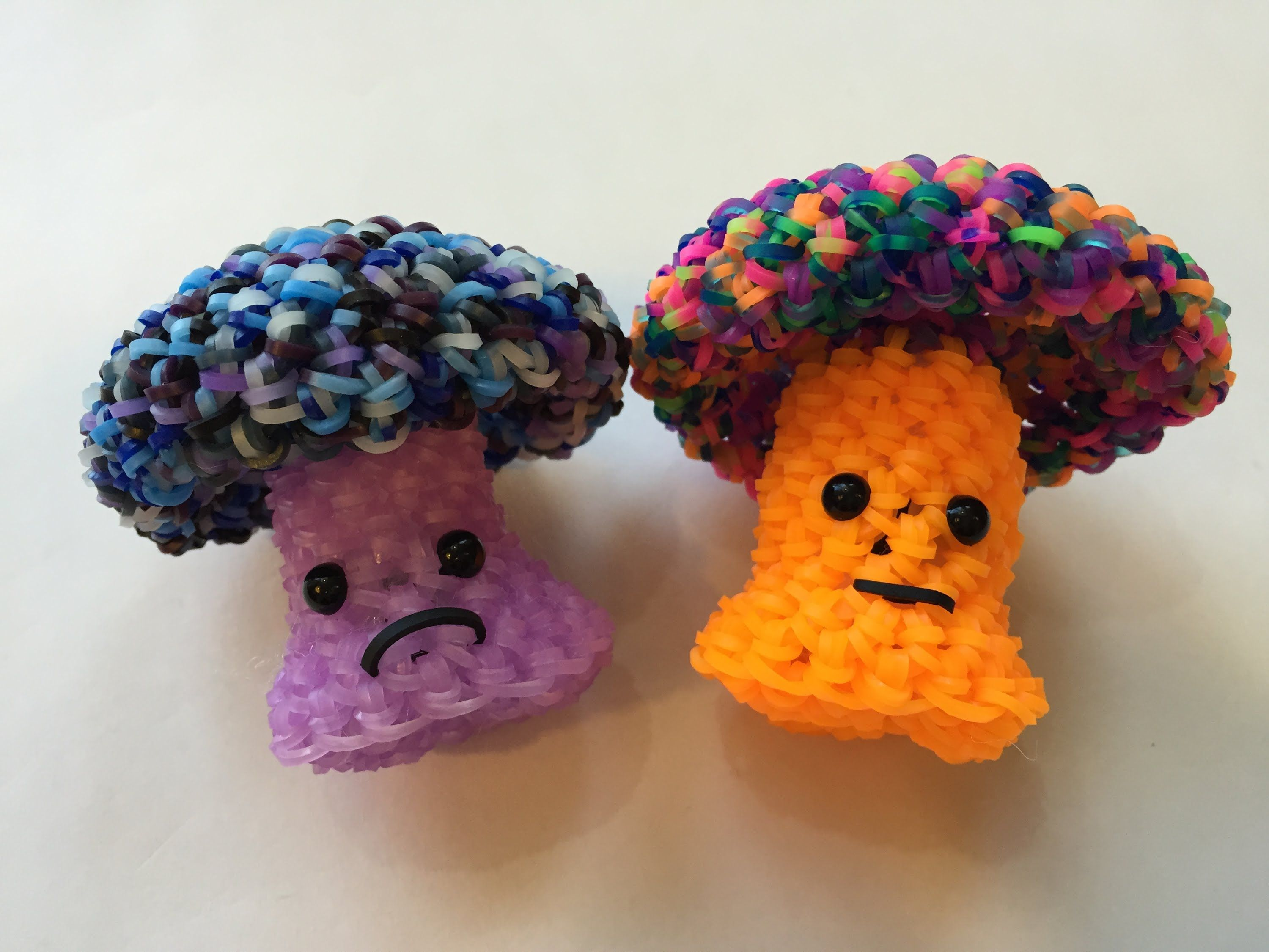 Amigurumi Loom Patterns : Mushroom tutorial rainbow loom kawaii loomigurumi amigurumi hook