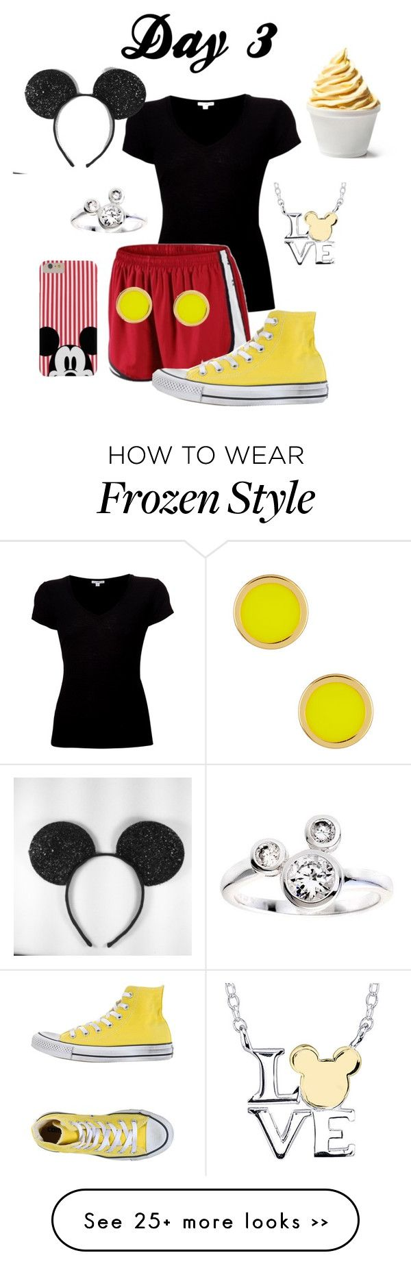 """""""Day 3: Magic Kingdom!! (my favorite)"""" by annakeath on Polyvore"""