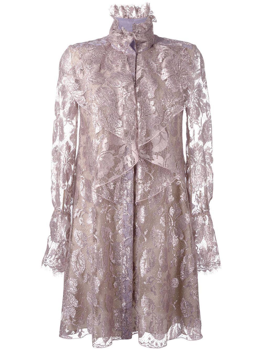 f4d3a481d4 Lanvin Victorian style ruffle dress | Thời trang idol diễn ...