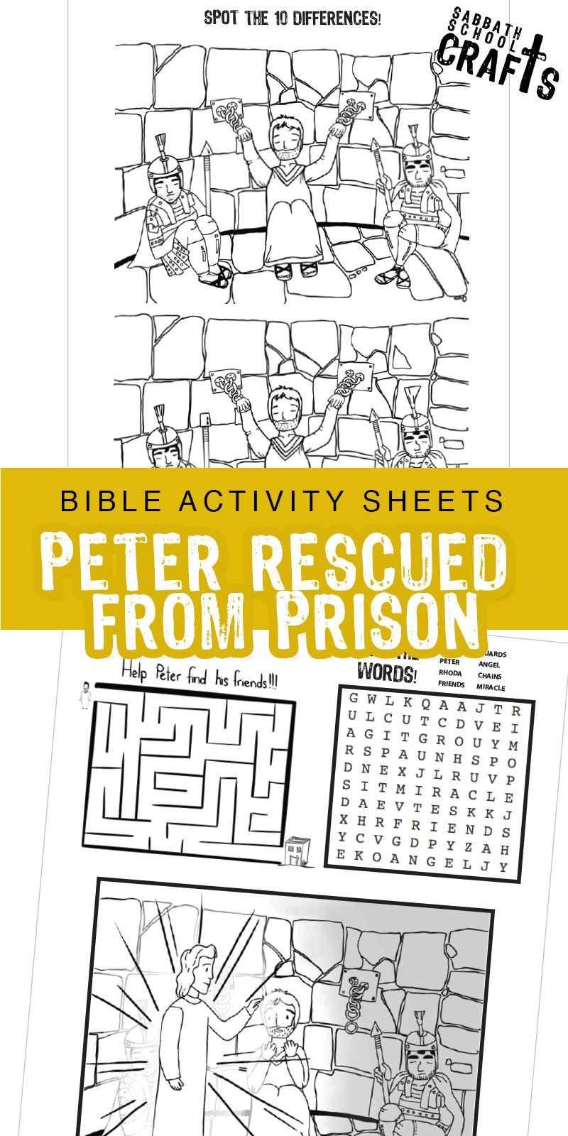 37++ Peter escapes from prison coloring page HD