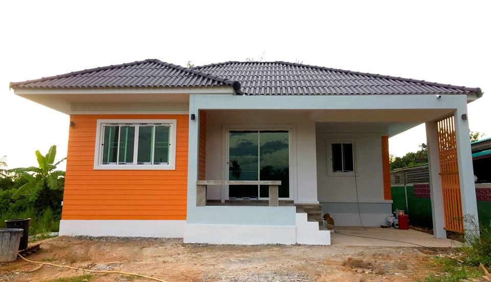 10 Projetos De Casas Pequenas E Simples Que Voce Pode Construir A Baixo Custo Simple House Design Simple House Affordable House Design