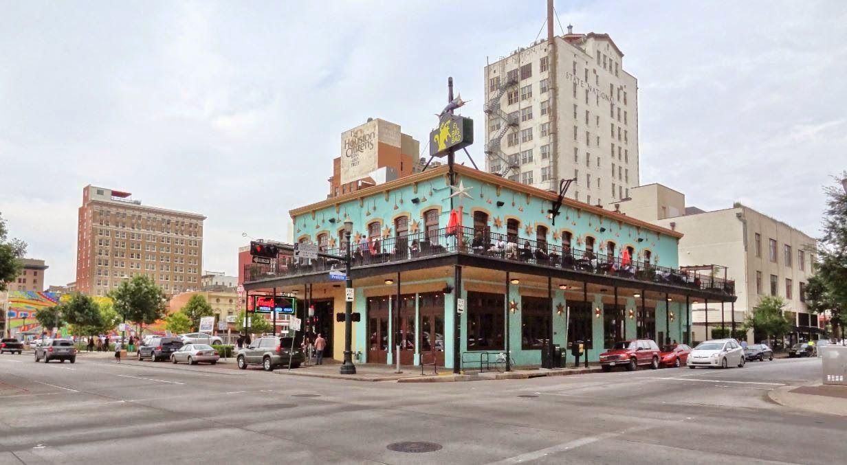El Big Bad City Of Houston Texas Usa Franks Pizza