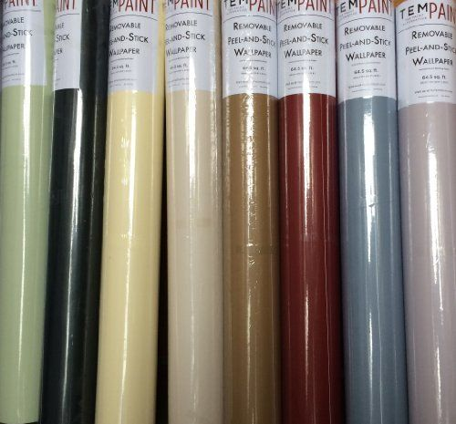 Tempaint Removable Peel And Stick Wallpaper Peel And Stick Wallpaper Wallpaper Adhesive Wallpaper
