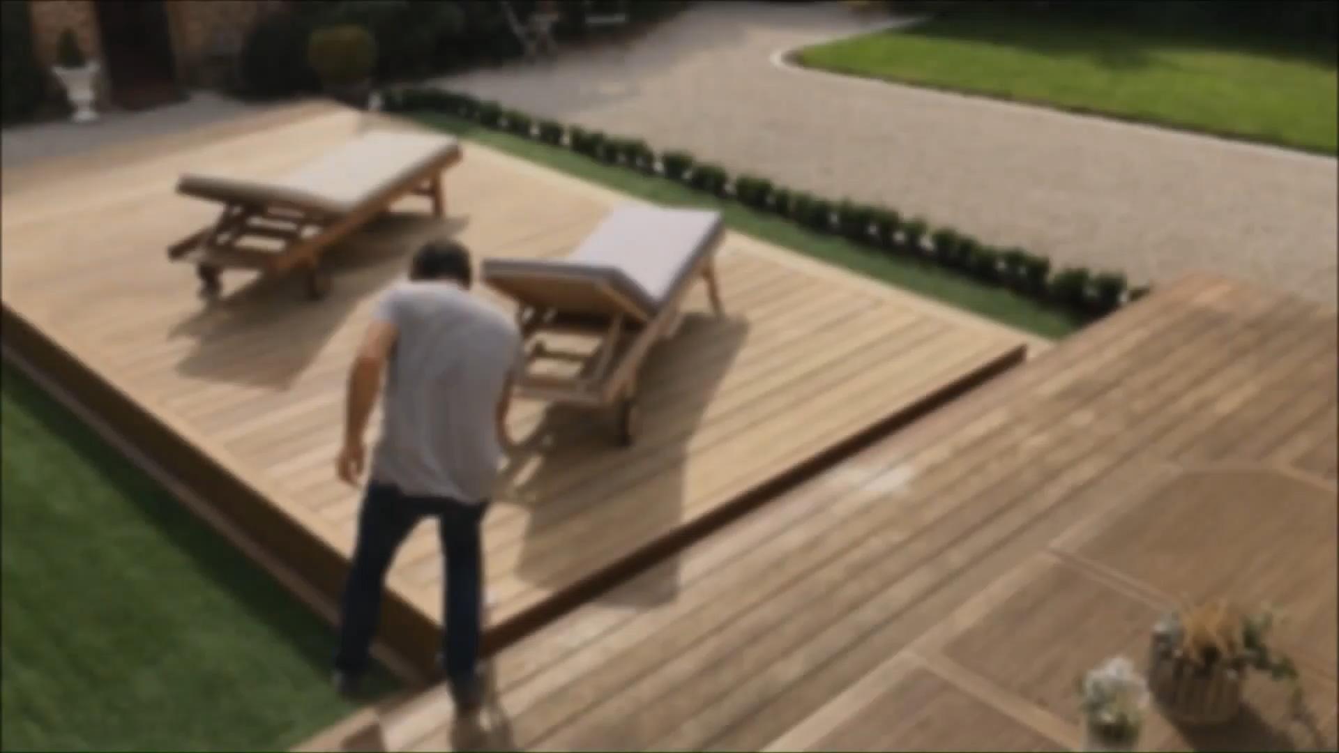 Photo of Terrazza mobile da piscina Rolling-Deck®