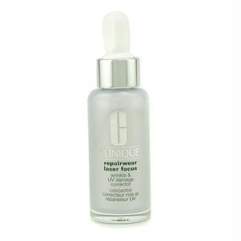 Clinique Reapairwear Laser Focus. An amazing serum for lines, wrinkles, and UV damage.