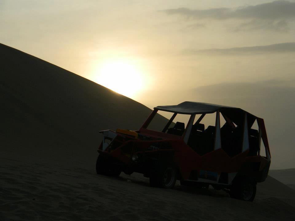 Sunset, Huacacina, Perú