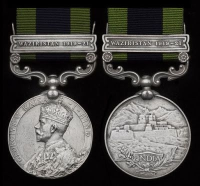 military awards for khyber rifles - Google Search