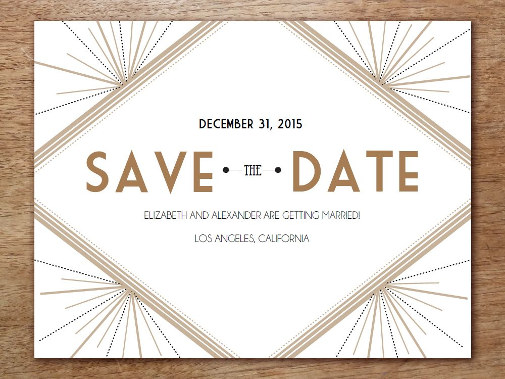 printable save the date deco wedding invitations pinterest