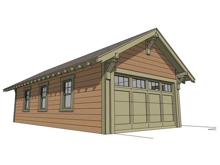Plan 052g 0013 Garage Plans Tandem Garage Garage Style