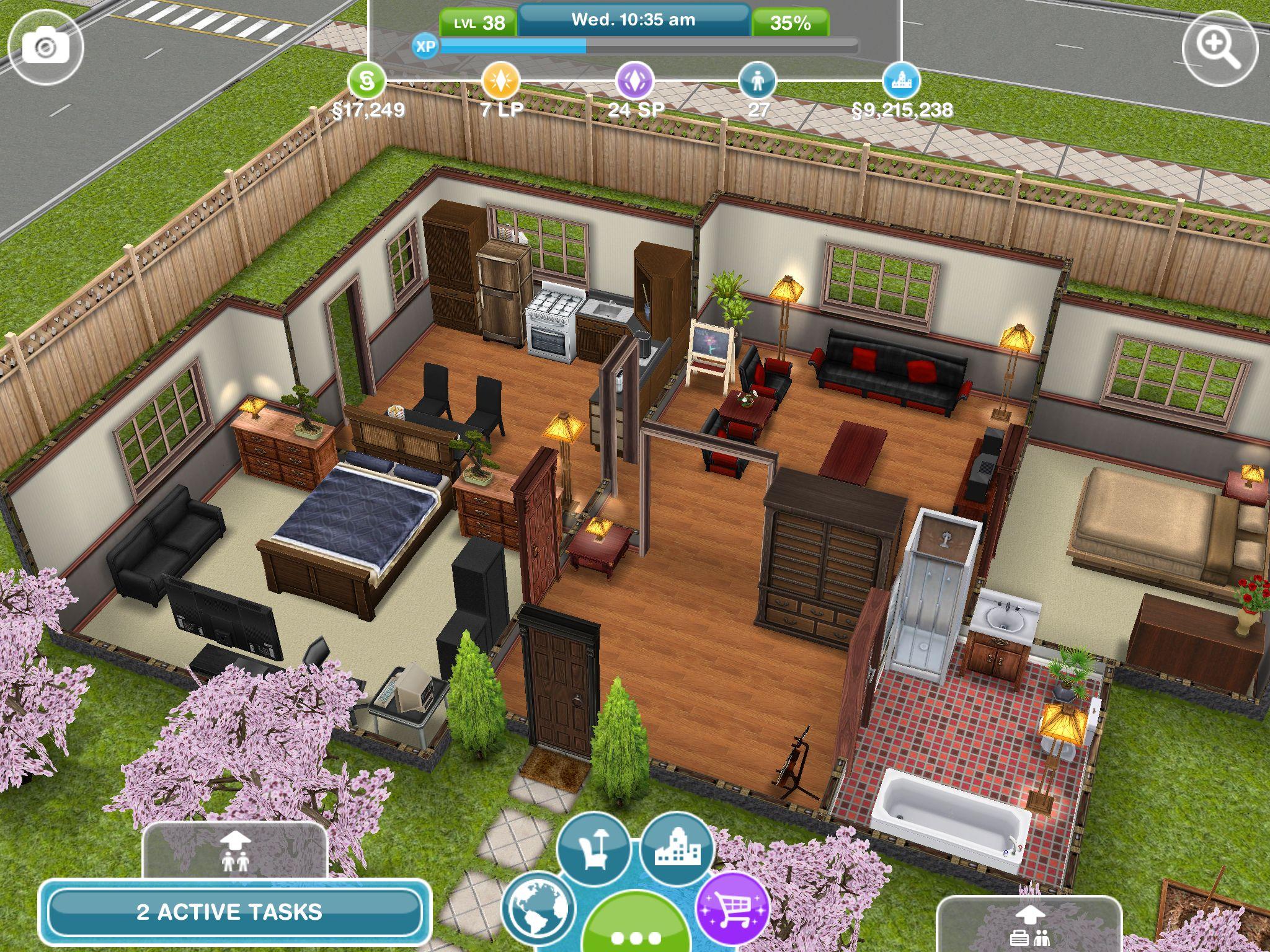 Sim Simple House Sims Simsfreeplay House Sims House Sims 4 House Building Sims Freeplay Houses