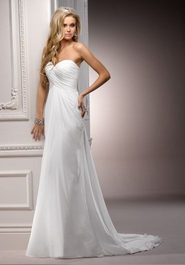 Maggie Sottero Sheath Wedding Dresses | Beautiful, Wedding and ...