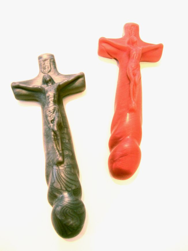 dildo Cross shaped