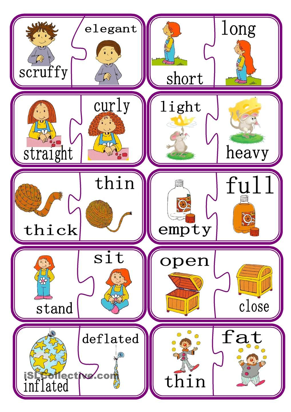 Opposites poster - Early Years teaching resource - Scholastic ...