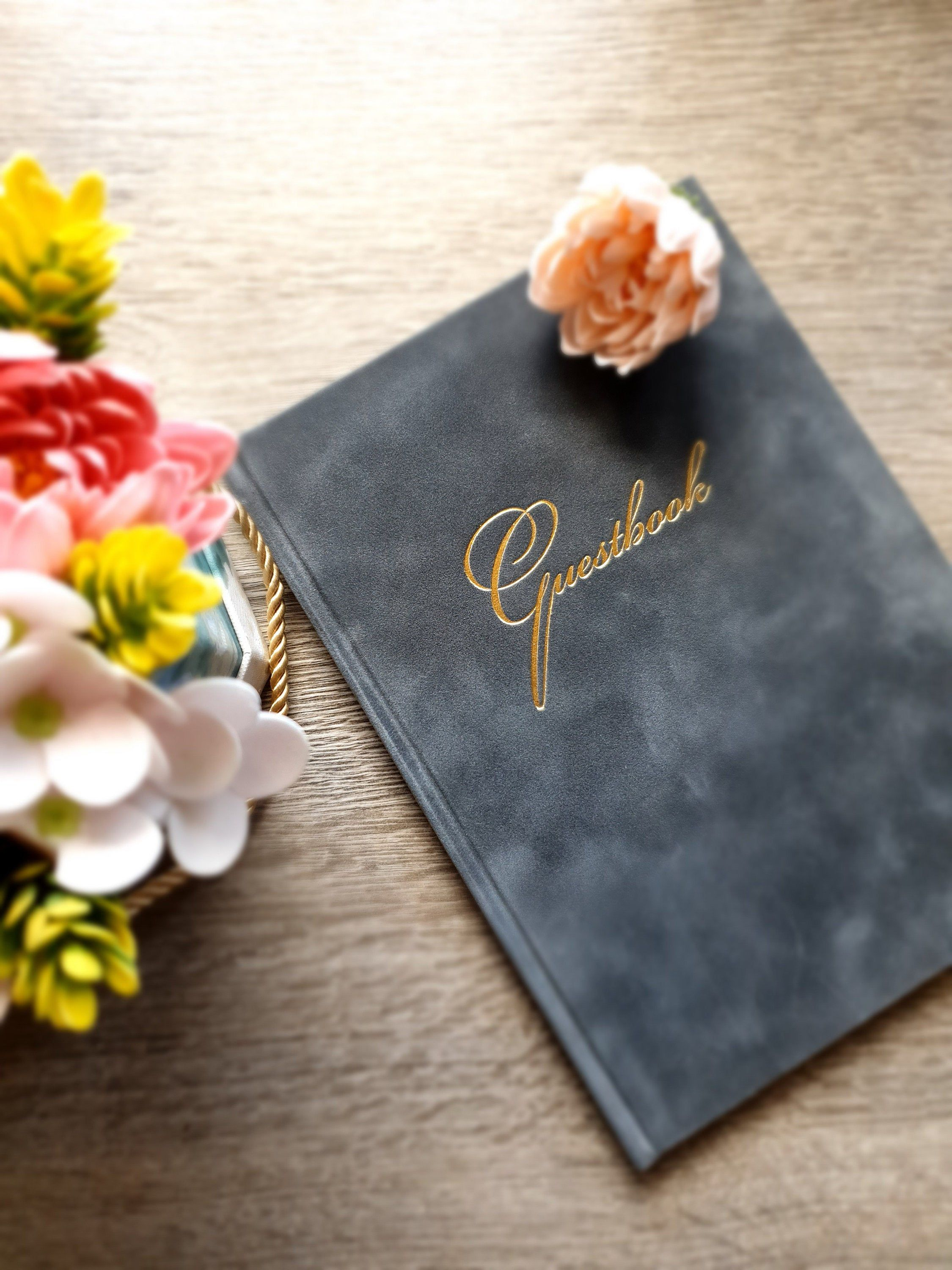 24+ Wedding guest book with photo cover information