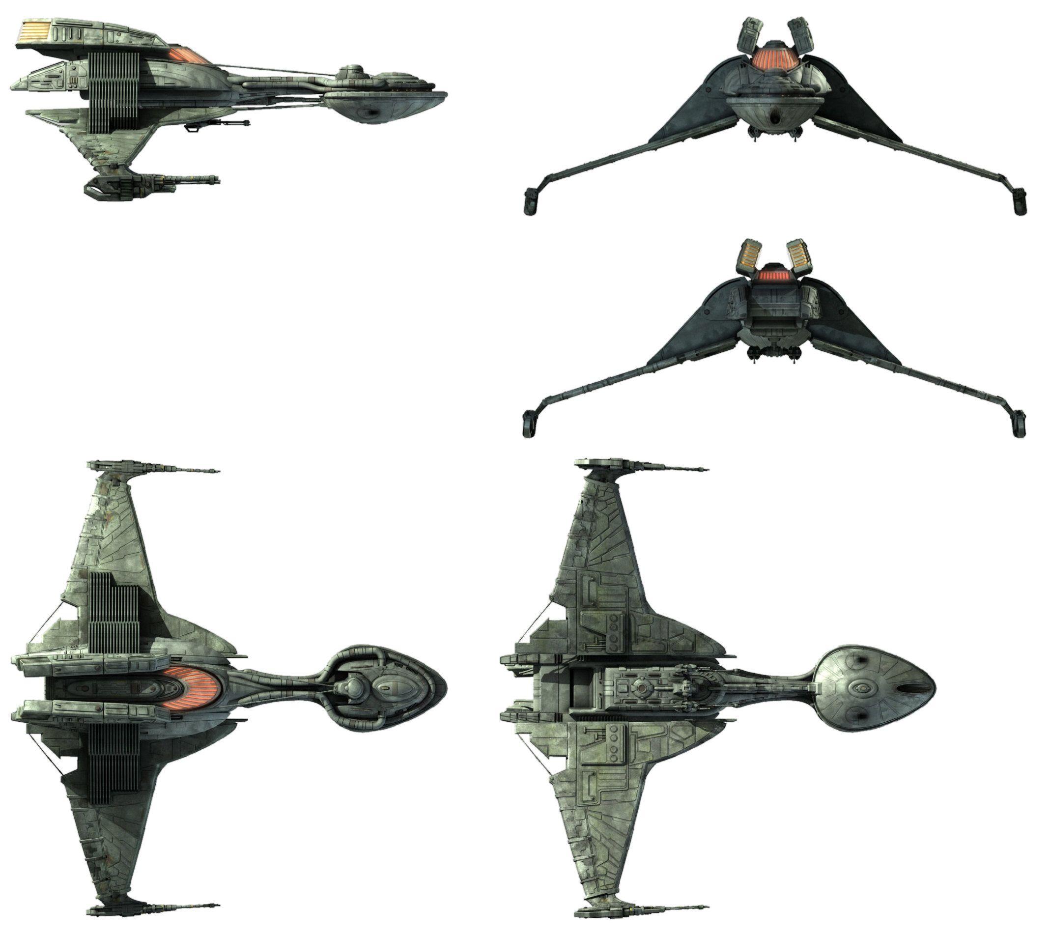 31++ Klingon starships ideas