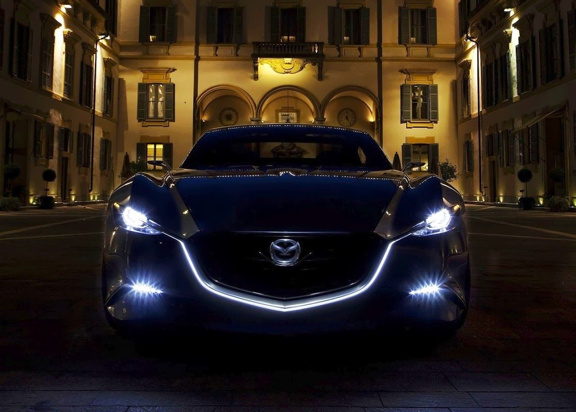 2014 Mazda RX 8. THAT HEAD LIGHT