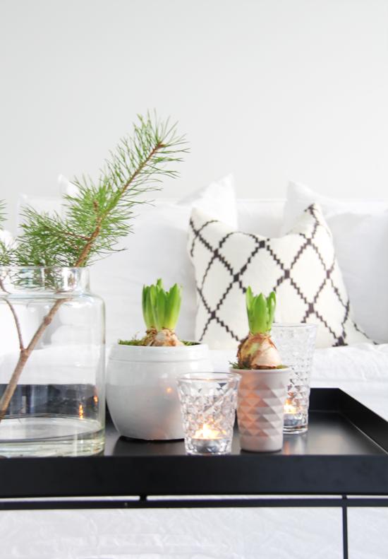 Resultat d'imatges de decoracion nordica navideña