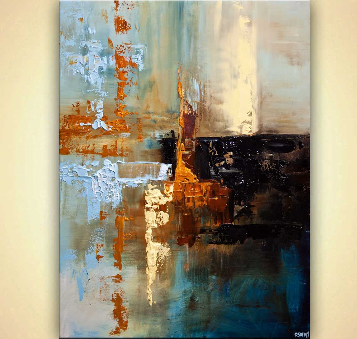 Canvas Art - Stretched Embellished & Ready-hang Print Dawn Osnat Aaa