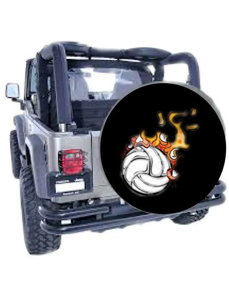 Volleyball Cover Spare Tire Covers Tire Cover Custom Spare