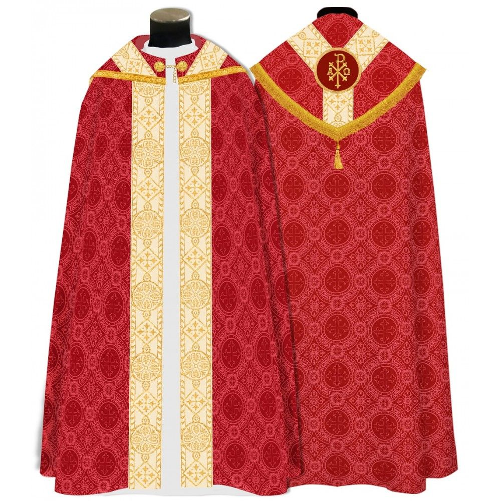 Cope Vestments In 2020 Vestment Chi Rho Cope