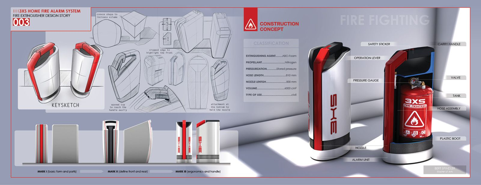 3xs Home Fire Alarm System Theme Futuristic Firefighter Products Engines Diagram Traffic Cone Extinguisher Futurism