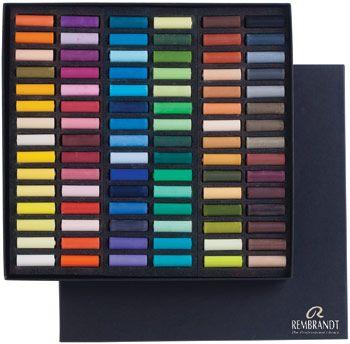 Unison artistas Pastel Box Set 72 Retrato Colores