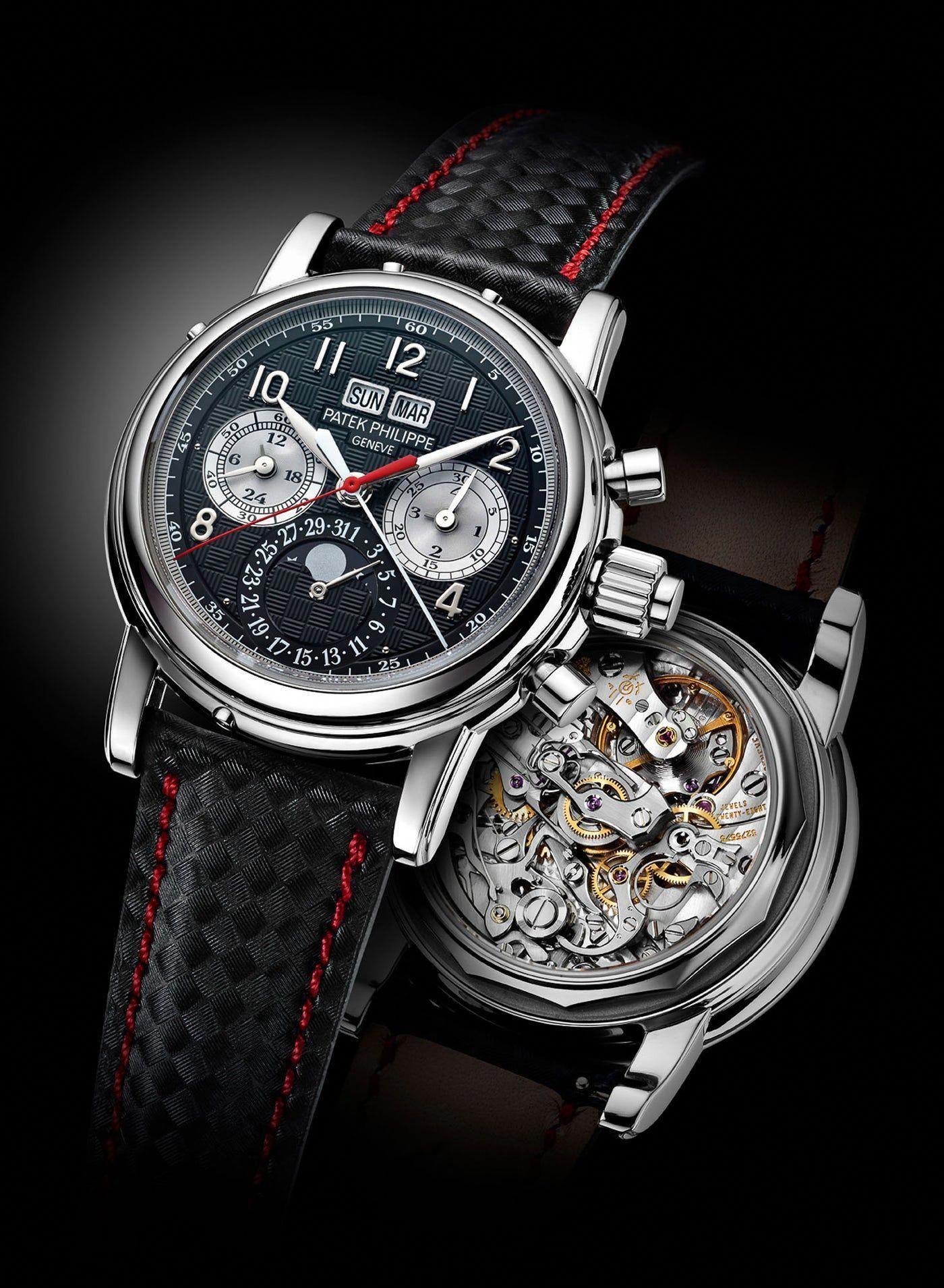 e04b87afb96 Patek Philippe Creates Unique 5004 Split-Seconds Perpetual Calendar In  Titanium For Only Watch 2013  watchUnique
