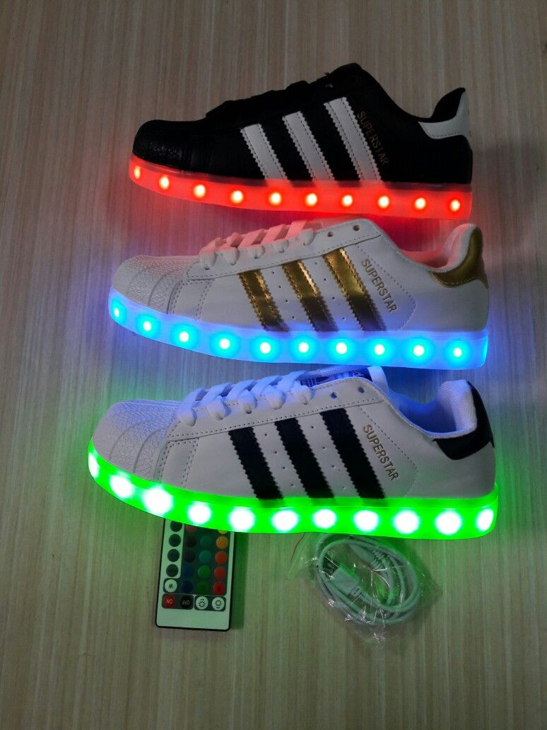 adidas superstar led schoenen