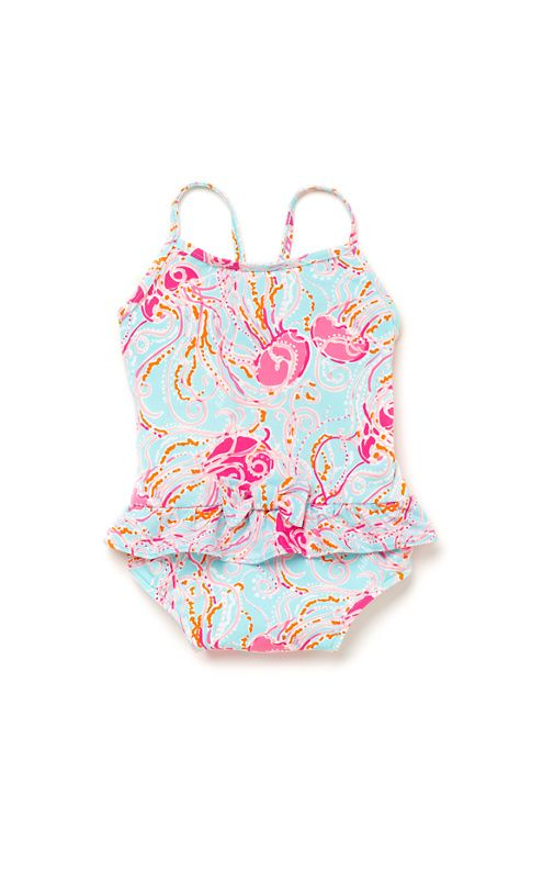 457cd81e5e sweet jellyfish swimsuit for little girls. fun for miami, florida, or  anywhere warm this summer! Arbor Infant Swimsuit Lilly Pulitzer Tween ...