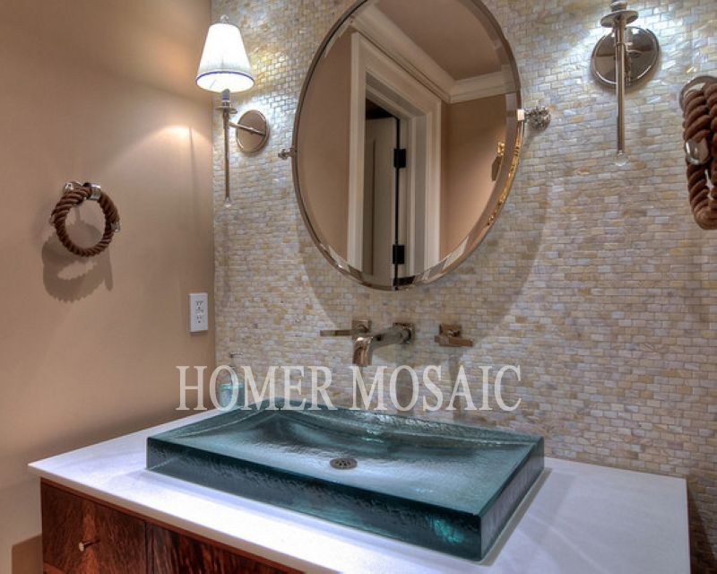 Mosaic Tiles Natural Mother Of Pearl Mosaic Tiles Kitchen