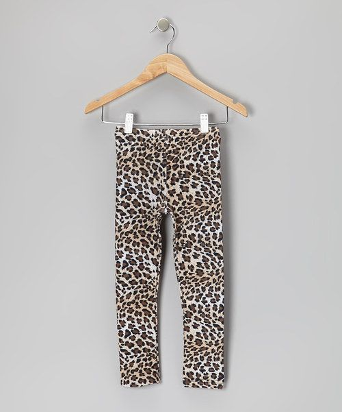 Supremely stretchy and rocking a colorful leopard print, these flashy bottoms are perfect for little miss wild thing.Size Note:This item runs small. Please refer to size chart.95% cotton / 5% spandexMachine wash; tumble dryImported