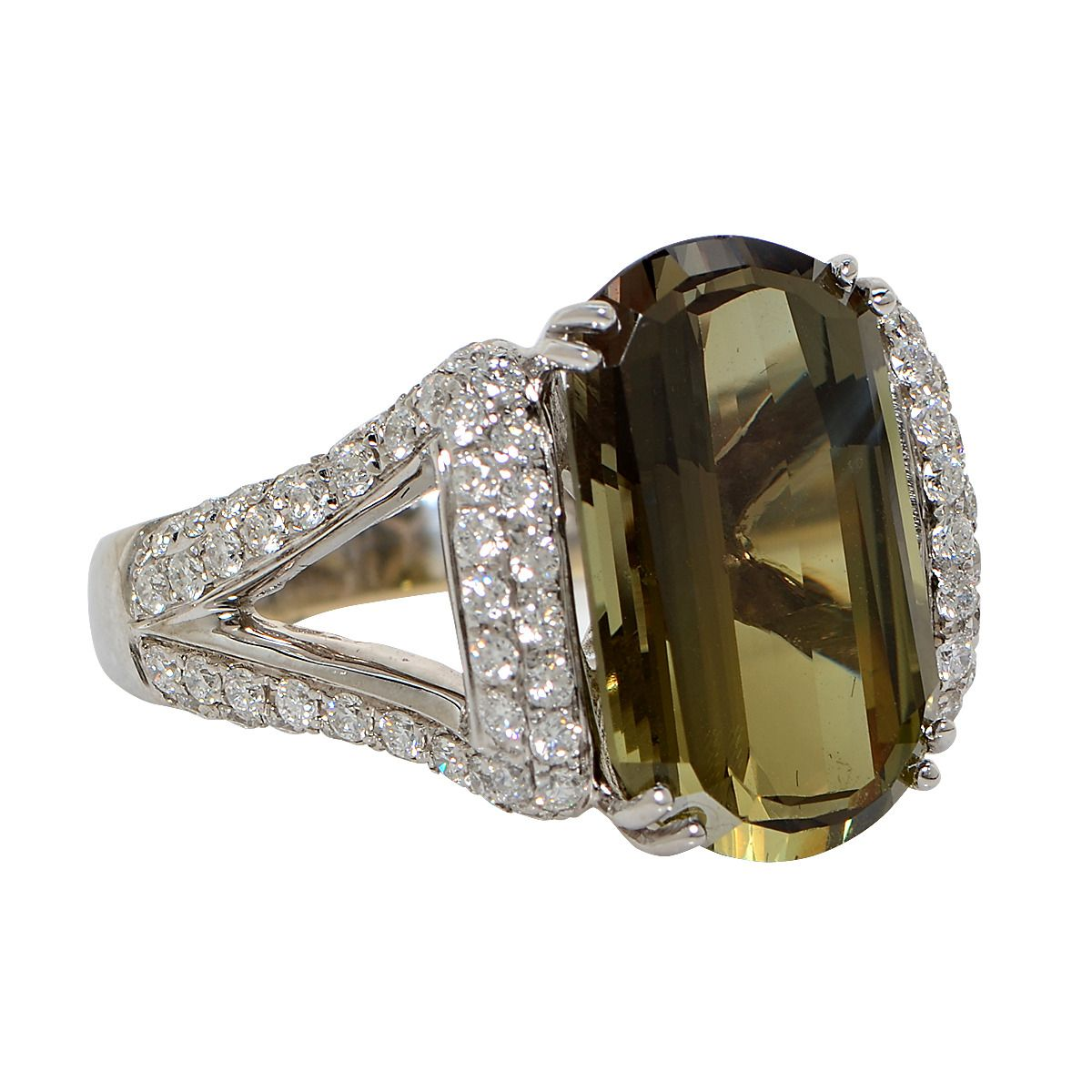 11.42 Carat Alexandrite Diamond Gold Ring | From a unique collection of vintage more rings at https://www.1stdibs.com/jewelry/rings/more-rings/