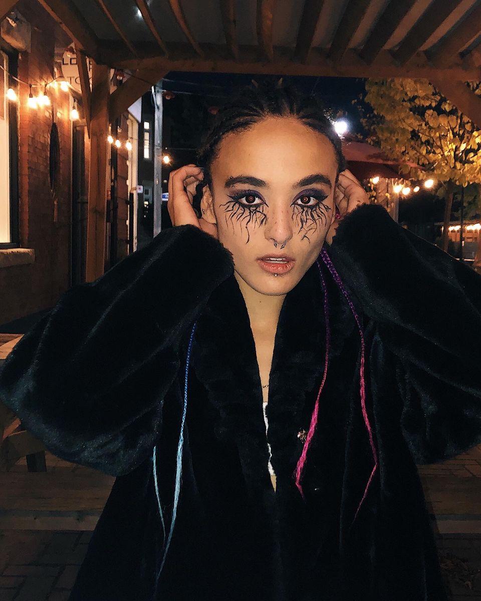 #baddie #aesthetic #spookymakeup #emo #alternativegirl