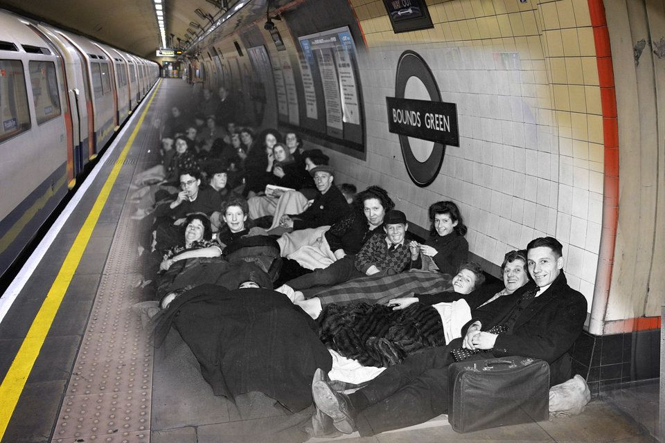 These Amazing Images Show Just How Far London Has Come Since The Blitz