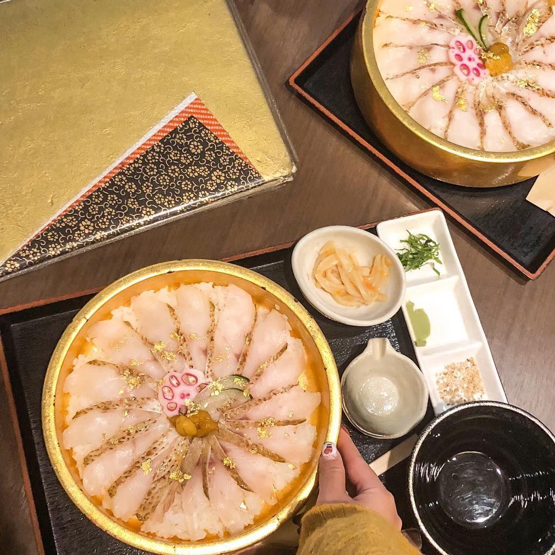 Kanazawa Days On Instagram 金沢旅行で食べたいもの上位ランキングといえば 高級魚ののどぐろですよね 近江町市場の近江町市場館2階にある 食処 鮮鮮えにし ではなんと のどぐろのひつまぶしをいただくことができます 1杯目はわ Food Breakfast Cheese