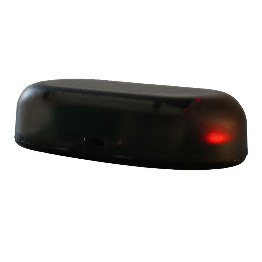 Fake Solar Auto Car Alarm Security Anti Theft Caution Flash