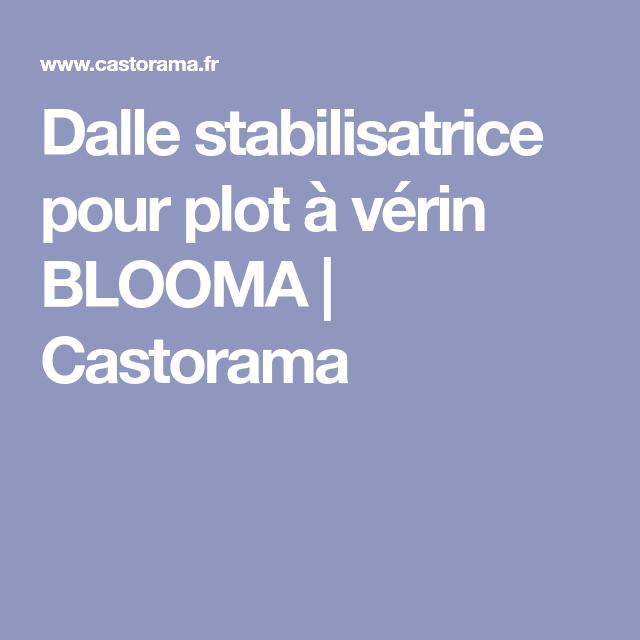 Dalle Stabilisatrice Pour Plot à Vérin Blooma Terrasse