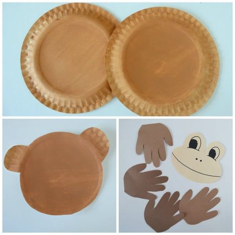 Paper Plate Monkey - Fun Paper Plate Crafts for Kids & Paper Plate Monkey - Fun Paper Plate Crafts for Kids | Monkey ...
