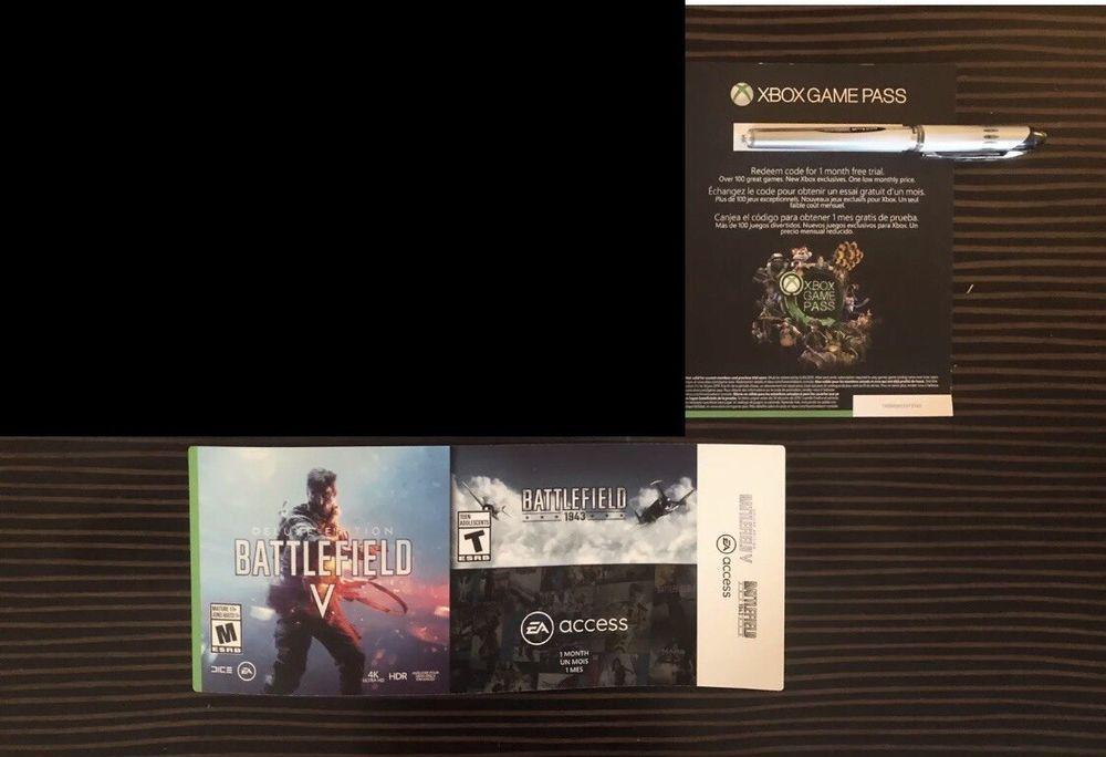 Battlefield V 5 Deluxe Edition Xbox One EA Access BF 1943