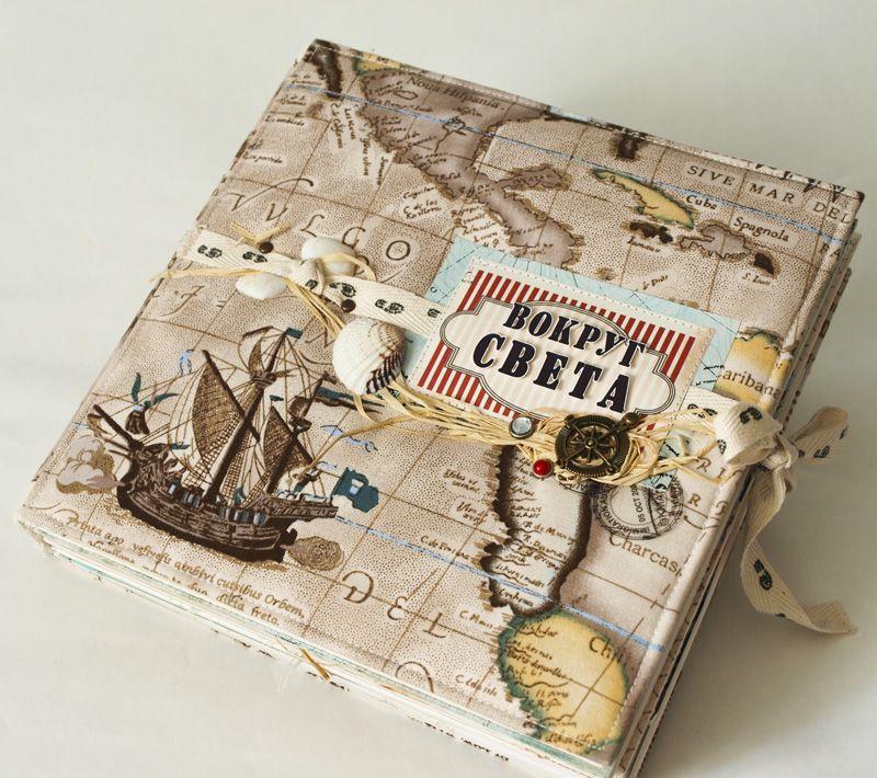 Скрапбукинг открытки с путешествиями
