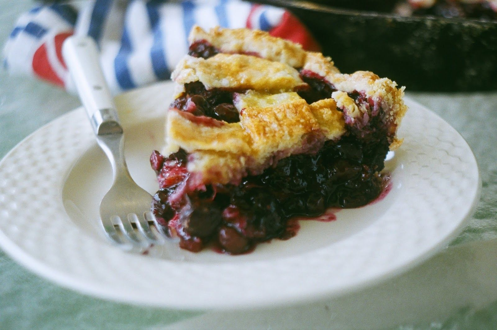 Blueberry Pie | Nothing in the House: a Pie Blog
