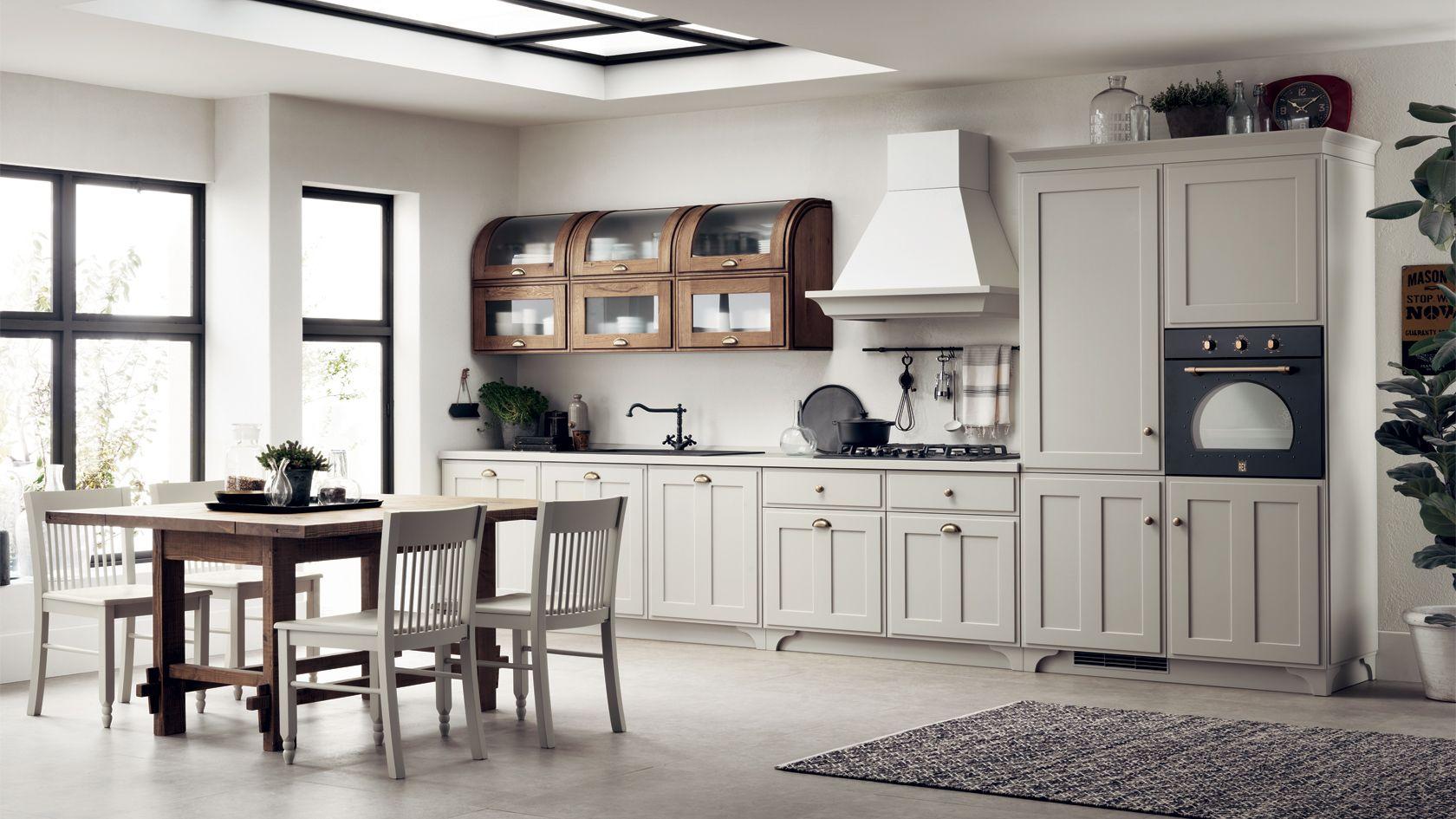 Scavolini Favilla | Cuisines-Kitchen | Pinterest | Curved walls ...
