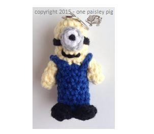 Minion Lip Balm Holder Crochet Pattern Diy Ideas Inspiration