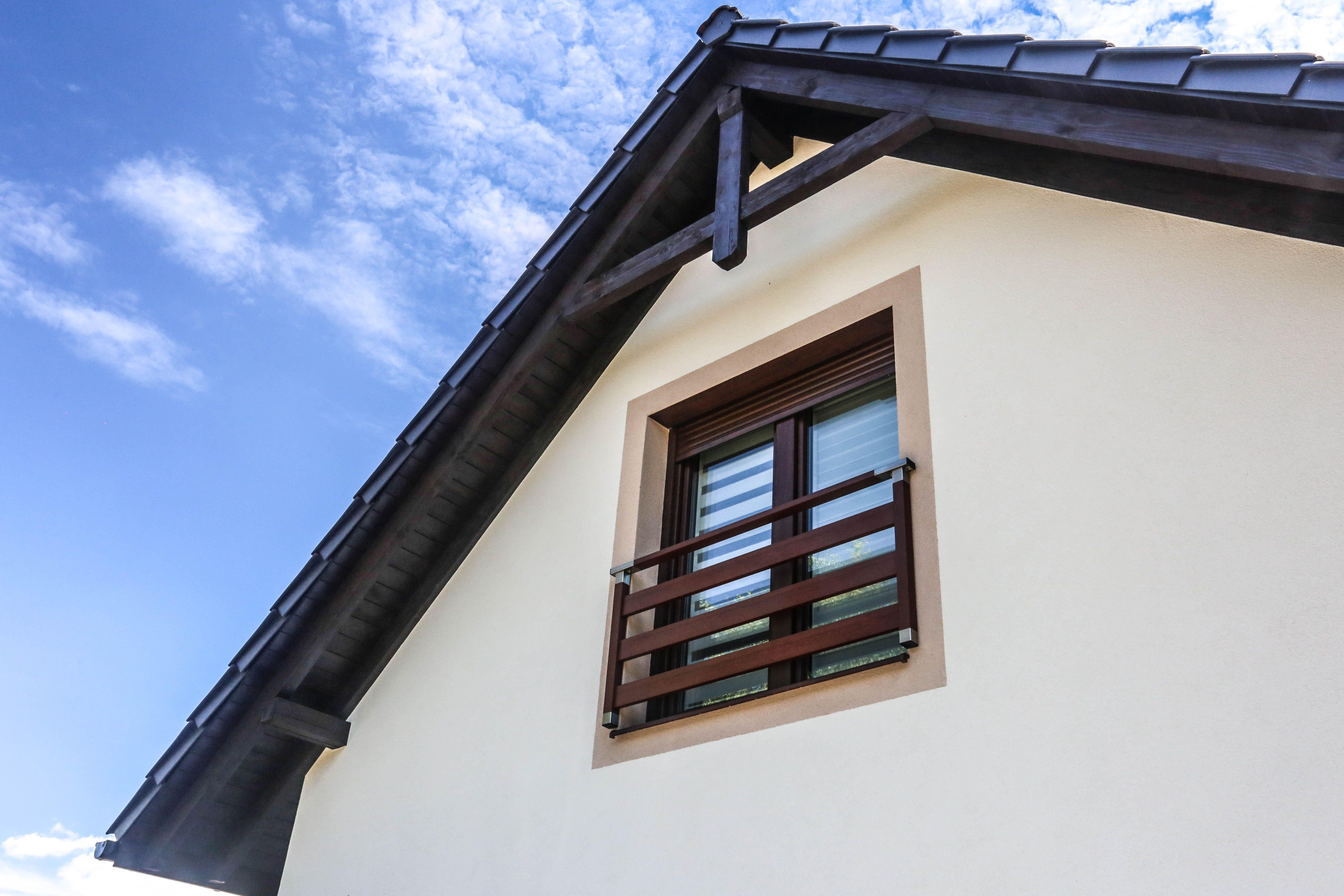 Balkon Francuski Elevation Building House Modern Elegant