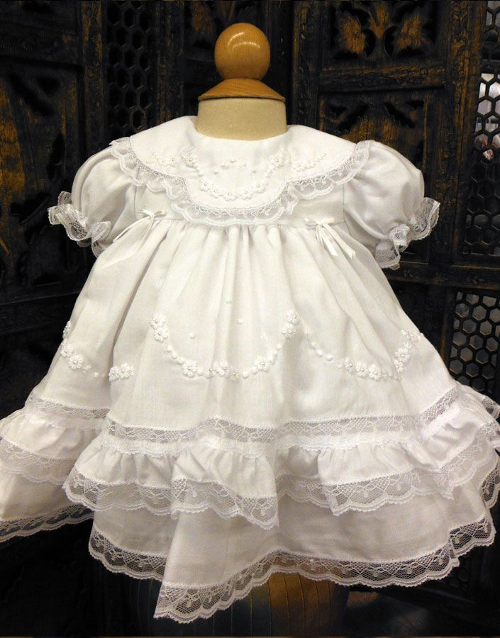 70ed64ce0 Heirloom Dress in White by Will'Beth ~ Preemie | Reborn Clothing ...