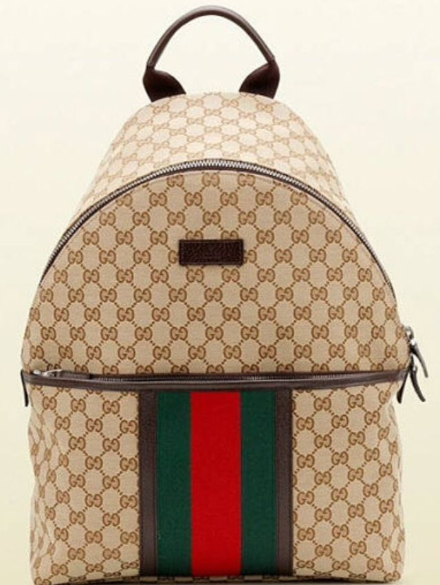 d11ab83a5172 Or this Gucci GG Supreme Canvas Backpack- the classic men's version? It's  probably better, more neutral, right? Maybe the one without the three  stripes at ...
