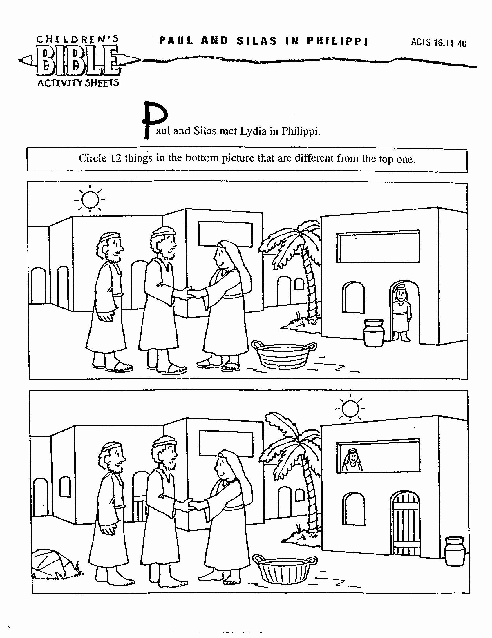 29 Saul S Conversion Coloring Page In 2020 Bible School Crafts