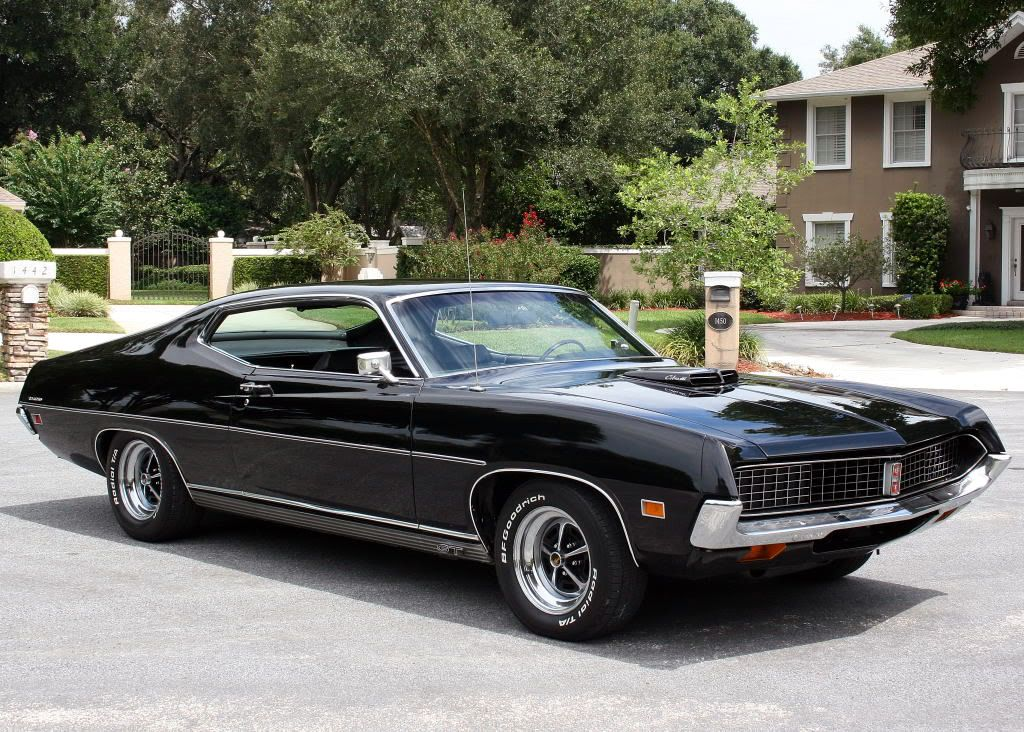 71 Ford Torino With Images Ford Torino Classic Cars Ford